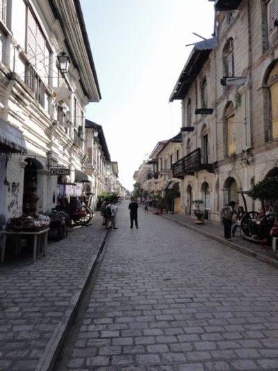 ビガンの古い町並み