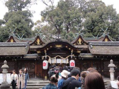 本殿 平野神社