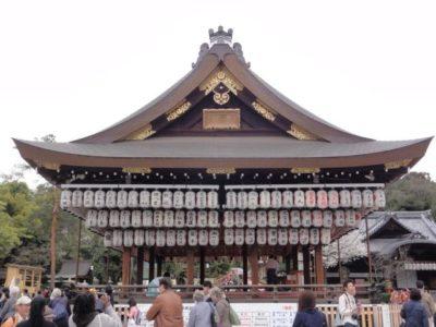 舞殿 八坂神社