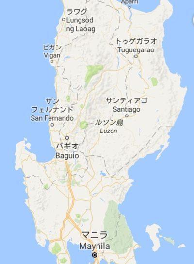 ラワグの地図