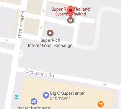 スーパーリッチの地図