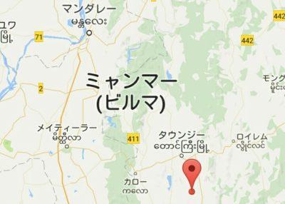 カックー遺跡の場所