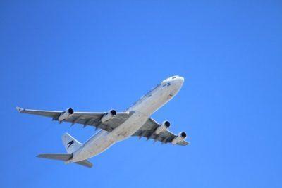 飛行機 一機