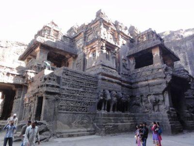 カイラーサナータ寺院 彫刻