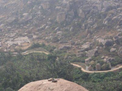 マタンガ山からの眺め
