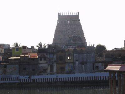 ナタラージャ寺院の外