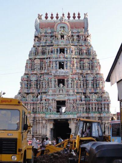塔門 彫刻 ナタラージャ寺院