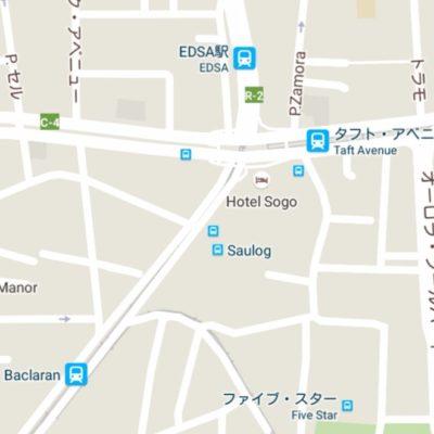 マニラ市内地図