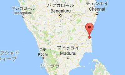 チダムバラムの地図