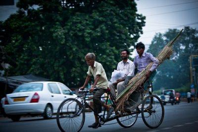 バングラデシュ リキシャー