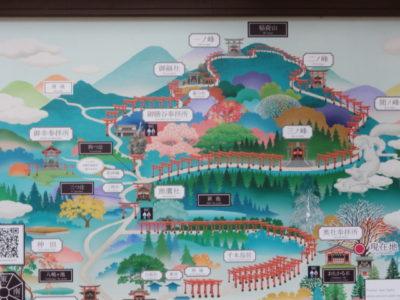 稲荷山 地図