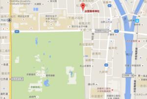 幸神社 地図