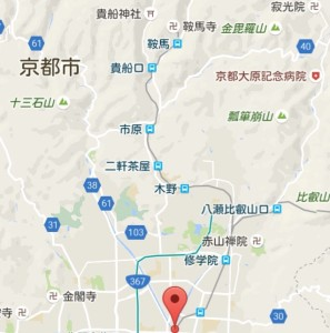 洛北 地図
