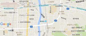 地図 今熊野観音寺