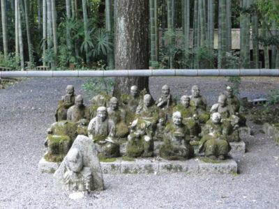 赤山禅院 十六羅漢
