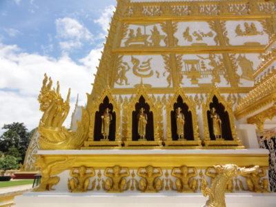 ノンブア寺院 彫刻