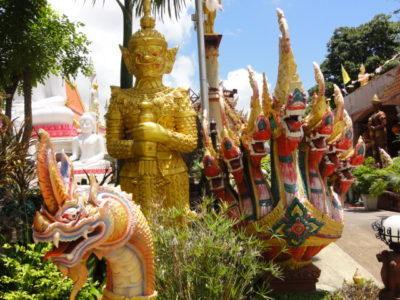 タイプラチャオヤイオントゥエ寺院 像