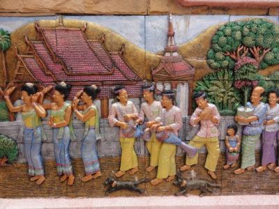 寺院の彫刻