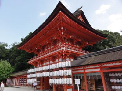 京都 下鴨神社の楼門
