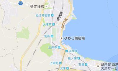 近江神宮の地図