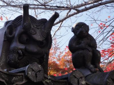 鬼瓦と神猿さん