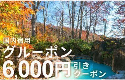 6000円引きクーポン