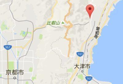 日吉大社 地図