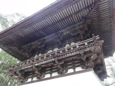 石山寺の鐘楼