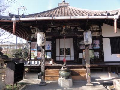 元慶寺の本堂