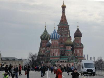 モスクワ ポクロフスキー聖堂