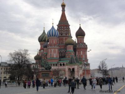 赤の広場のポクロフスキー聖堂