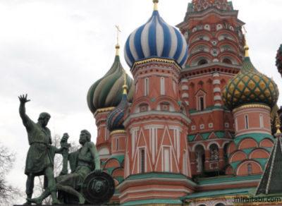 ロシアのポクロフスキー聖堂