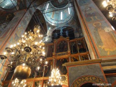 アルハンゲルスキー聖堂内部