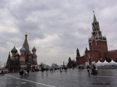 赤の広場とポクロフスキー聖堂