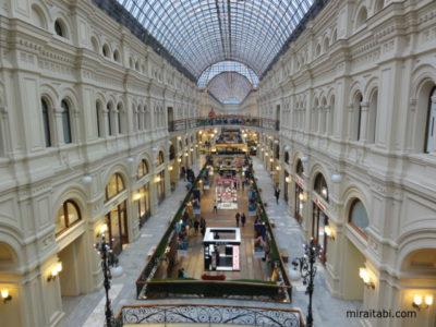 モスクワのグム百貨店