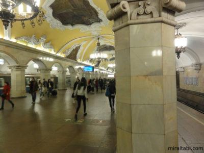 ロシアの地下鉄