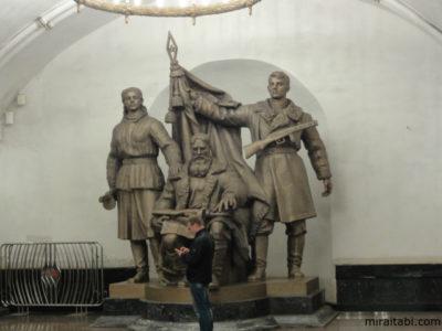 ロシアの像