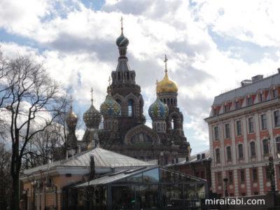 サンクトペテルブルクの教会と