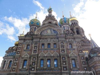 サンクトペテルブルクのスパースナクラヴィー教会
