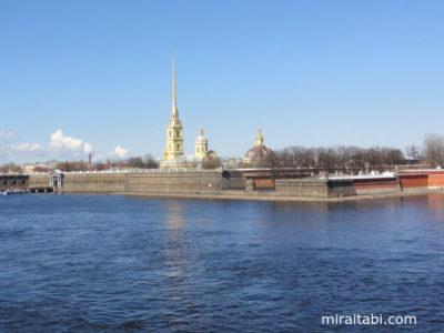 サンクトペテルブルクのペトロパブロフスク要塞