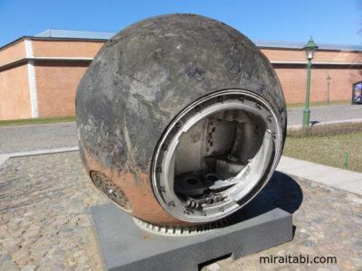 宇宙船のカプセル