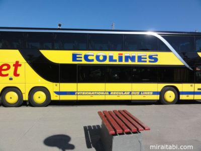 エコラインズのバス