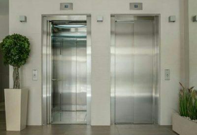エレベーター 2つ