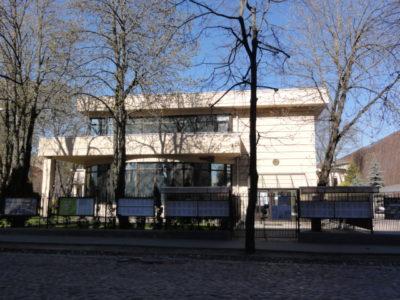 リガのベラルーシ大使館