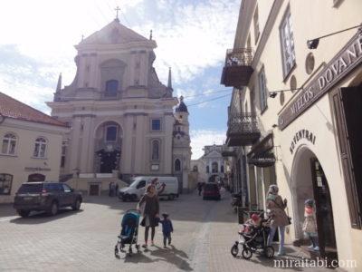 ビリニュス テレサ教会