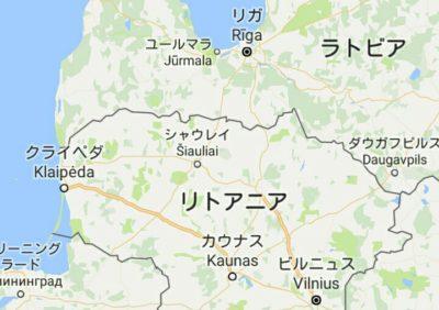 シャウレイの地図