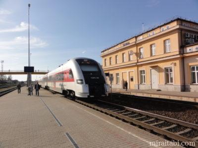 リトアニアの電車