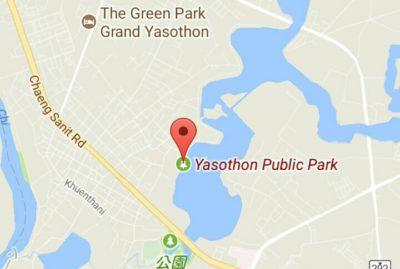 ヤソートンの地図