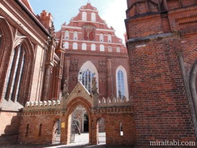 聖アンナ教会と聖ベルナルディン教会
