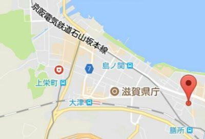義仲寺の地図